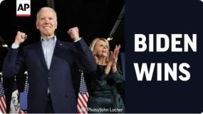 جو بايدن الرئيس 46 للولايات المتحدة