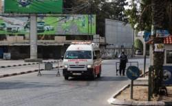 وفاة فتاة إثر حادث سير على شارع الرشيد غرب غزة