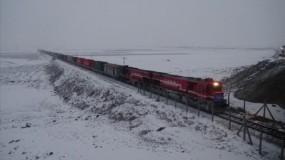 أول قطار تصدير تركي يصل إلى الصين مباشرة