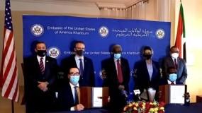 السودان يوقع رسمياً الاتفاق الإبراهيمي للتطبيع مع الاحتلال