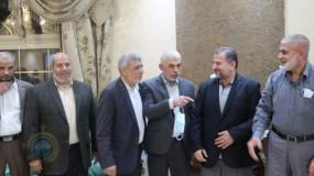 وفد حركة (حماس) يصل القاهرة لبحث آليات الانتخابات والمصالحة
