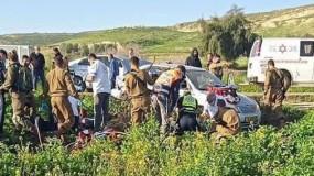 استشهاد شاب وإصابة آخرَين من رام الله دهساً بمركبة مستوطن في الأغوار