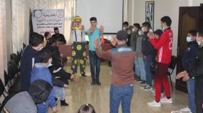 فريق الحنّون الإعلامي وحلويات دهب ينفذان حفل للأيتام بعنوان ( بسمـــة أمل )