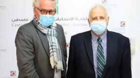 حنا ناصر: ندعو الأمم المتحدة لمنع تدخل الاحتلال بالعملية الانتخابية خصوصاً بالقدس