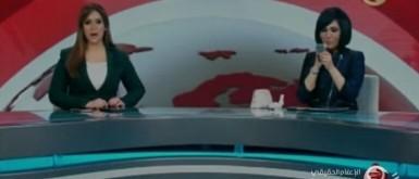 وقف فريق بالتلفزيون المصري بعد ظهور مذيعة تضبط مكياجها على الهواء