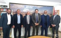 العامور يلتقي مع ممثل سويسرا في فلسطين  وضع خطة عمل لمجلس الأعمال الفلسطيني السويسري المشترك