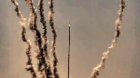 سرايا القدس تعلن إطلاق رشقة صاروخية تجاه مدينة تل أبيب