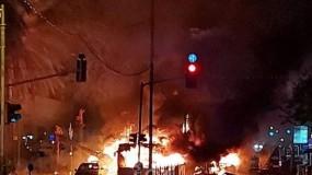 قتيلان إسرائيليان و32 إصابة في القصف الصاروخي للمقاومة على تل أبيب