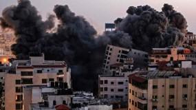 غابت بهجة العيد...صوت الصواريخ والانفجارات في كل مكان وعائلات بلا مأوى