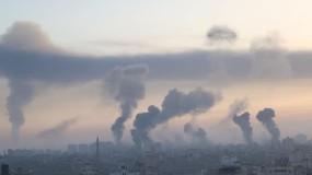 سلسلة غارات عنيفة على مقار حكومية غرب مدينة غزة والاحتلال رفض مقترحات دولية  لوقف إطلاق النار