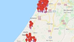 المقاومة تطلق رشقة بـ 50 صاروخ تجاه أسدود وبئر السبع وغلاف غزة وصافرات الإنذار تدوى