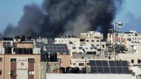 طائرات الاحتلال تدمر منزل القيادي في حركة حماس خليل الحية