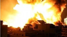 طائرات الاحتلال تشن غارات في مناطق متفرقة من قطاع غزة