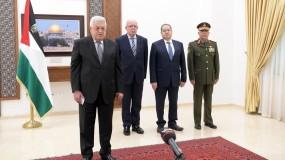 الرئيس يتقبل أوراق اعتماد تسعة من السفراء المعتمدين لدى دولة فلسطين