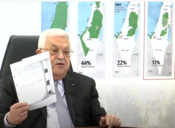 الرئيس عباس يرفع صك ملكية منزل عائلته في صفد خلال خطابه بالأمم المتحدة