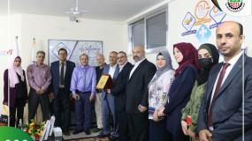 نقابة المدربين الفلسطينيين P.T.A تستقبل وفداً مهنئاً من الغرفة التجارية .
