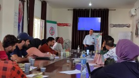 """مركز د. حيدر عبد الشافي للثقافة والتنمية ينظم لقاءًا ثقافيًا حول """" اليوم العالمي لمكافحة الفقر"""""""