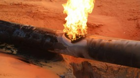 """انفجار في خط لأنابيب الغاز شمال سيناء.. و""""داعش"""" يعلن"""