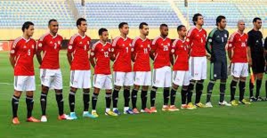 صورة توضيحية من الارشيف تمثل منتخب مصر