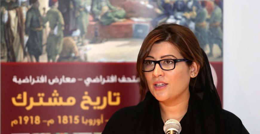 منال عطايا مدير عام متاحف الشارقة