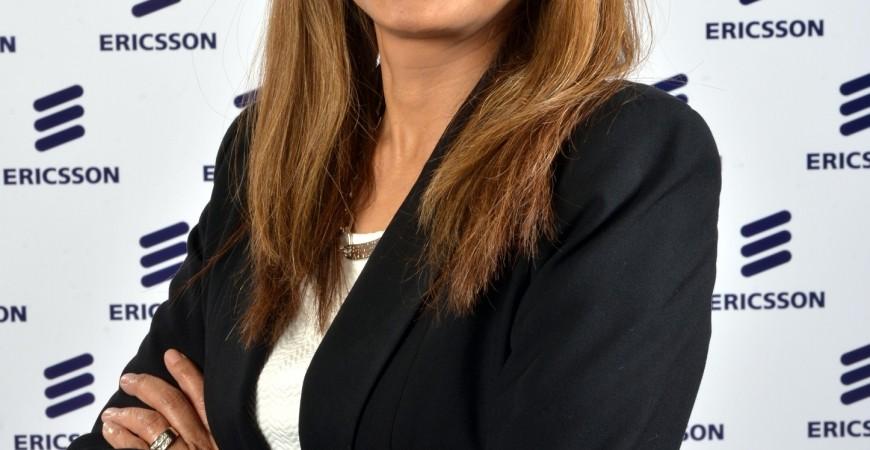 رافية إبراهيم، رئيسة شركة إريكسون في منطقة الشرق الأوسط وشمال شرق أفريقيا