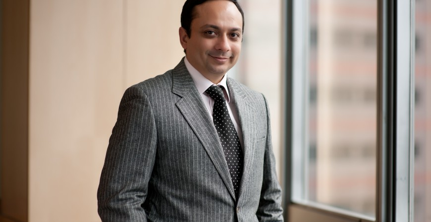 """زوبين كاركاريا، المدير التنفيذي لشركة """"في أف أس جلوبال"""""""