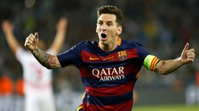 ميسي يقود برشلونة لاكتساح إشبيلية ويسجل الهاتريك الخمسين في مسيرته