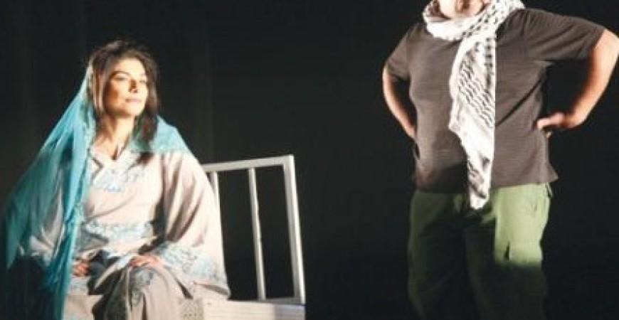 مشهد من مسرحية اعراس آمنه