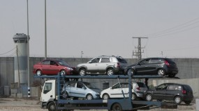 """وصول 67 مركبة وحافلة إلى قطاع غزة عبر """"إيرز"""""""