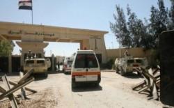 سفارة فلسطين بالقاهرة : وصول سيارات الإسعاف المصرية إلى  معبر رفح البري  لنقل جرحى العدوان الإسرائيلي الغاشم