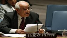 منصور: يجب الدفاع بحزم عن القانون الدولي والقرارات المتعلقة بقضية فلسطين