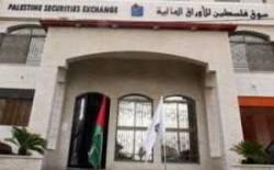 بورصة فلسطين سجلت حتى نهاية آب تراجعاً بأكثر من 70%