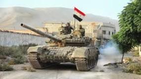 """الجيش السوري يوسع سيطرته في إدلب ويستعيد بلدة """"التح"""" معقل الإرهابين و 12 منطقة"""