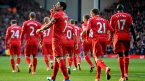 """ليفربول يهزم أرسنال في مباراة """"الجنون"""" ومهرجان الأهداف"""