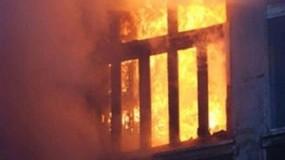 وفاة ثلاثة أطفال باندلاع حريق في منزلهم بمخيم النصيرات وسط القطاع