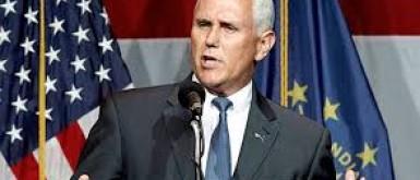 """نائب الرئيس الأمريكي بنس يتعهد بضمان انتقال السلطة بطريقة آمنة و""""مشرفة"""""""