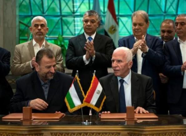 حماس : مؤتمر العاروري والرجوب إعلان مرحلة جديدة من العمل المشترك