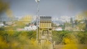 دولة الاحتلال تُكمل سلسلة تجارب على نسخة من منظومة القبة الحديدية
