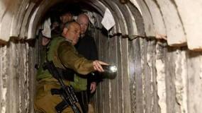 إعلام الاحتلال إسرائيلي: النفق المُكتشف عند حدود القطاع على عمق 74 متراً