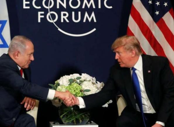 نتنياهو: (صفقة القرن) تعترف بالسيادة الإسرائيلية على غور الأردن ومستوطنات الضفة وتنزع سلاح حماس