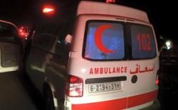 (9) إصابات في حادث سير مروع جنوب قطاع غزة