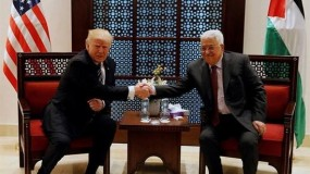 """متراجعاً عن نفيه.. ترامب يعتزم نشر """"خطته للسلام"""" في الشرق الأوسط قبل الثلاثاء"""