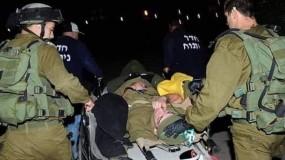 اصابات بين جنود الاحتلال باندلاع اشتباكات مسلحة في نابلس