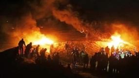 إعلام عبري: حماس وافقت على وقف إطلاق البالونات الحارقة بوساطة مصرية
