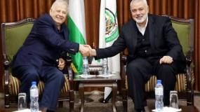 """هنية لـ """"ناصر"""": حريصون على توفير المناخ الوطني اللازم لإنجاز الانتخابات بمراحلها الثلاث"""
