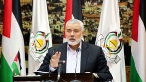 حماس تكشف تفاصيل لقاء هنية مع مجموعة السلام العربي