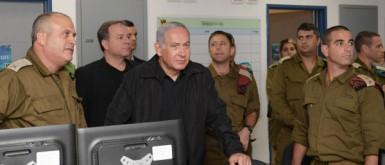 """نتنياهو يهدد: ستكون عملية كبرى في غزة إذا لزم الأمر ولا """"تهدئة مع الصواريخ""""!"""