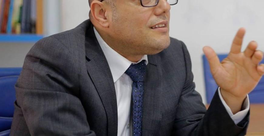 وزير الثقافة الفلسطينية الدكتور /عاطف أبو سيف